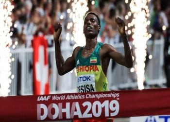 بعد انتظار 18 عاما.. ذهبية لإثيوبيا بمونديال قطر