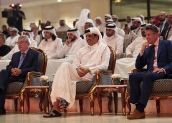 منح أمير قطر الوسام الذهبي لألعاب القوى
