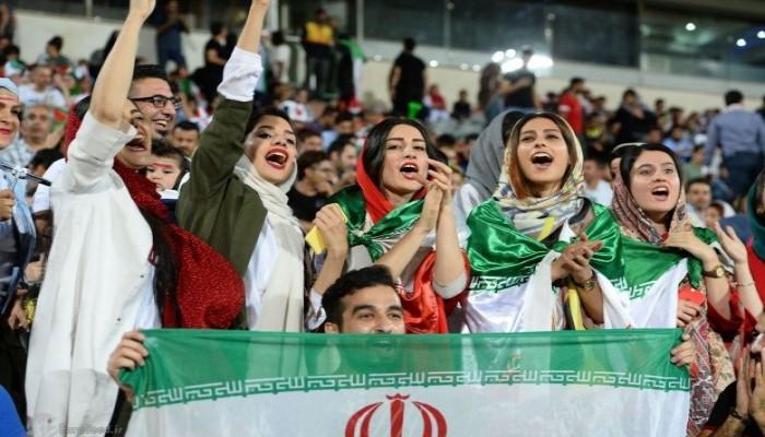 الإيرانيات على موعد لحضور المباريات الخميس المقبل