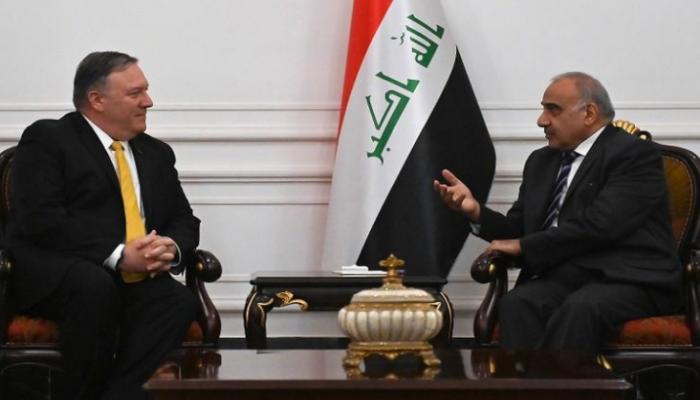 بومبيو يحث عبدالمهدي على معالجة شكاوى العراقيين