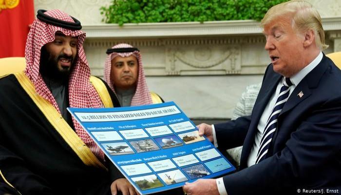 مفاجأة.. إدارة ترامب لم تسلم السعودية أي أسلحة متطورة