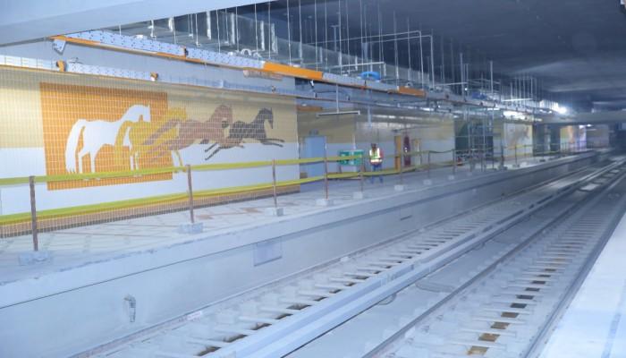 استعدادات مصرية لافتتاح أكبر محطة مترو أنفاق بالشرق الأوسط