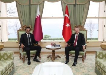 تميم يبحث مع أردوغان تطورات العملية العسكرية شمالي سوريا