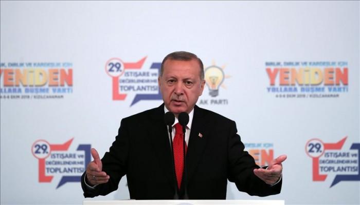 أردوغان للسيسي: لا يحق لمن قتل الديمقراطية في بلاده أن يتحدث عنا