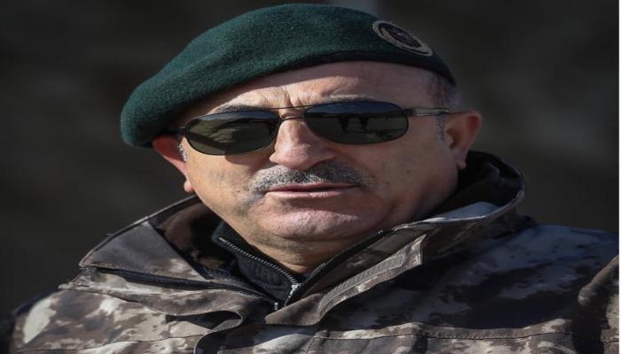 جاويش أوغلو: نبع السلام تستهدف تطهير 120 كم شمالي سوريا