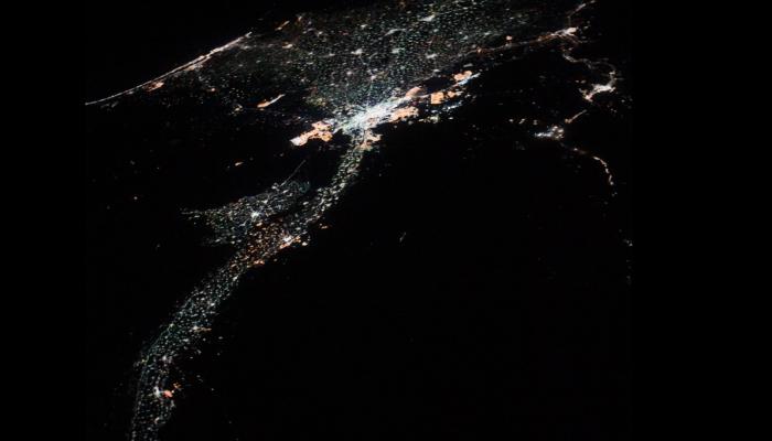 رائدة فضاء أمريكية تنشر صورا مذهلة لنهر النيل