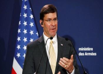 وزير الدفاع الأمريكي يحث تركيا على وقف عمليتها في سوريا
