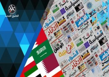 القوات الأمريكية بالسعودية وحريق ناقلة إيران أبرز عناوين صحف الخليج