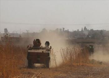 القوات التركية تسيطر على طريق حلب القامشلي الدولي