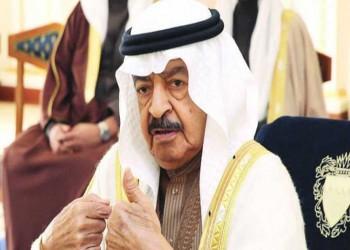 فحوصات طبية ناجحة لرئيس وزراء البحرين