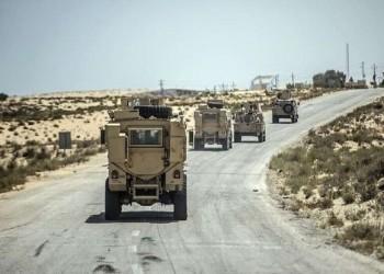 مقتل 7 عسكريين من الجيش المصري في هجمات بسيناء