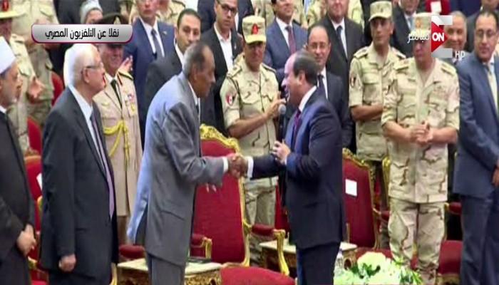 السيسي يحيي طنطاوي: رجل عظيم قاد مصر في أصعب الفترات