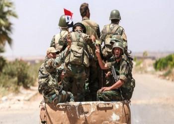 انتشار لقوات النظام السوري قرب الحدود التركية