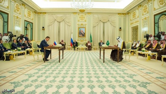 الرياض وموسكو تتفقان على بناء مصنع للميثانول في روسيا
