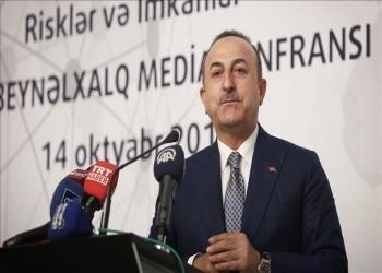 """جاويش أوغلو: الرافضون لـ """"نبع السلام"""" يريدون تقسيم سوريا لزعزعة استقرار تركيا"""