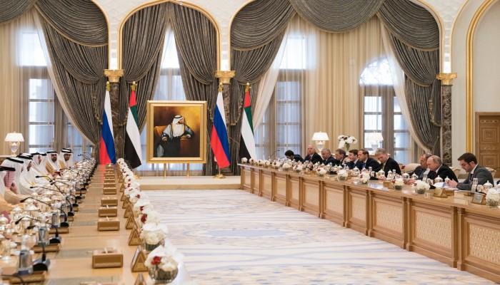 توقيع حزمة اتفاقات بين روسيا والإمارات خلال زيارة بوتين