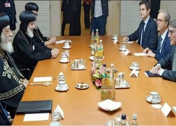 تواضروس يزور البرلمان الأوروبي ويؤكد تحسن الأوضاع في مصر