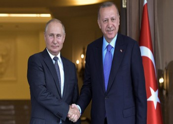 الرئاسة التركية: أردوغان يلتقي بوتين بروسيا في 22 أكتوبر