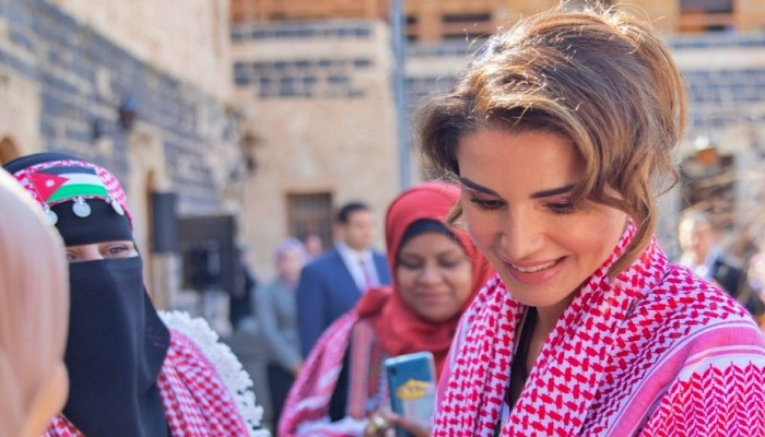 رسالة من ملكة الأردن ردا على اتهامها في أزمة المعلمين