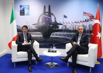 مكالمة متوترة بين الرئيس التركي ورئيس الوزراء الإيطالي