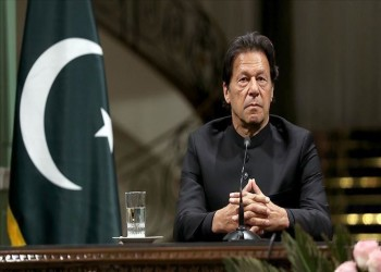 عمران خان يبحث مع رئيس الأركان العماني الأوضاع في جامو وكشمير