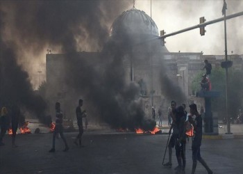 الحشد الشعبي يرد على اتهامه بقمع الاحتجاجات العراقية