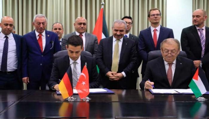 شركة تركية توقع اتفاقا لبناء مدينة صناعية شمالي الضفة