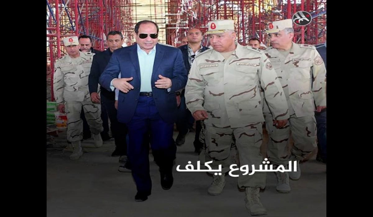 """محمد علي لـ""""MEE"""": أنفاق سرية تحت """"السويس"""" لسحب مياه النيل"""