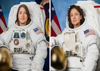 أمريكيتان تنجحان في أول مهمة نسائية بالكامل خارج محطة الفضاء الدولية