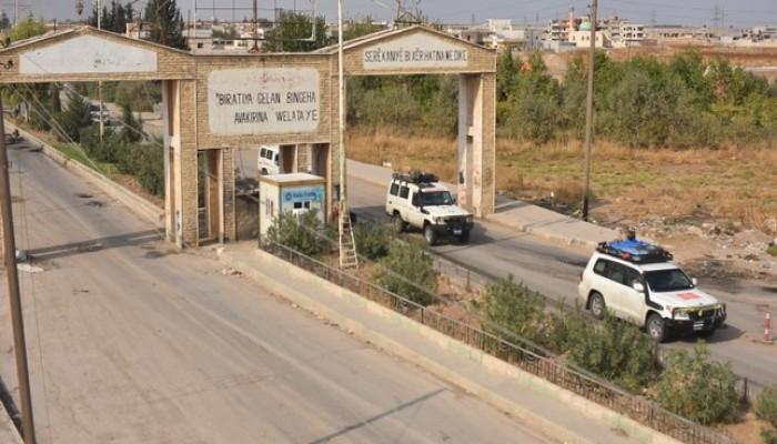 الدفاع التركية توثق انسحاب مقاتلين أكراد من رأس العين