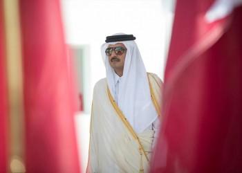 أمير قطر يشارك في حفل تنصيب إمبراطور اليابان