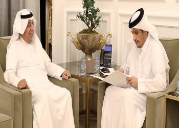 وزير خارجية قطر يتسلم رسالة خطية من نظيره الكويتي