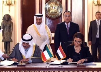 الكويت ومصر توقعان اتفاقية مشاريع تنموية بمليار دولار في سيناء