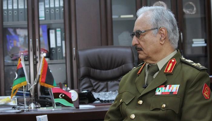أمر عسكري بالقبض على حفتر و3 آخرين لخطف وقتل مواطنين