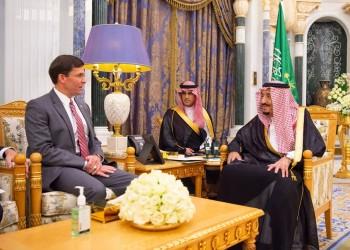 الملك سلمان يبحث التعاون الدفاعي مع إسبر بالرياض