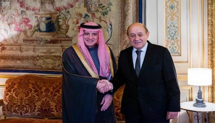 فرنسا.. الجبير ولودريان يبحثان الأوضاع الإقليمية والدولية