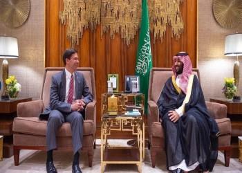 بن سلمان يبحث مع إسبر التعاون العسكري والدفاعي