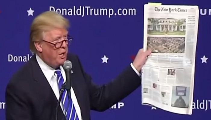 البيت الأبيض لن يجدد اشتراك واشنطن بوست ونيويورك تايمز