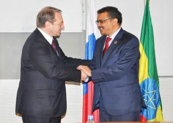 روسيا وإثيوبيا توقعان اتفاقا في مجال الطاقة الذرية
