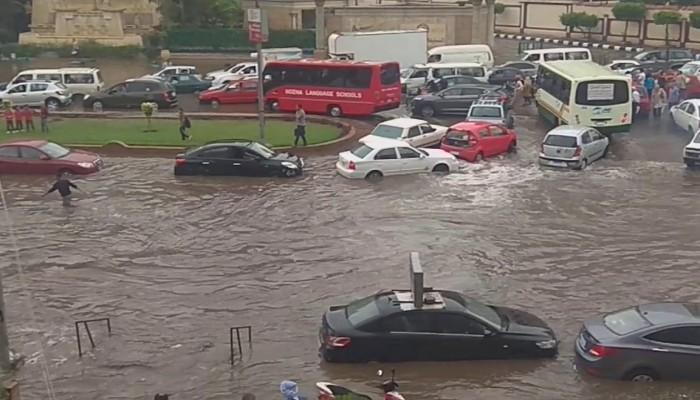 ارتفاع عدد ضحايا الأمطار في مصر إلى 6 قتلى