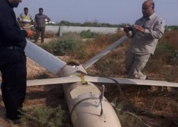 طائرة مسيرة مجهولة المصدر تسقط في إيران
