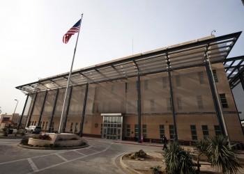 حالة إنذار بالسفارة الأمريكية في بغداد وترحيل بعض موظفيها