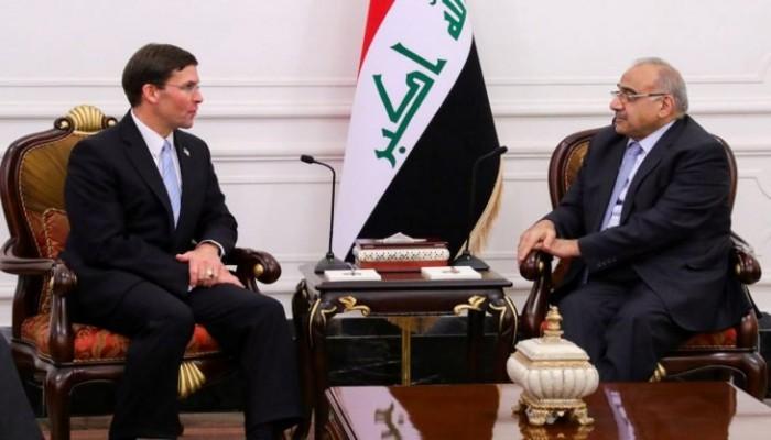 وزير الدفاع الأمريكي: قواتنا تدخل العراق وتغادره بإذن الحكومة