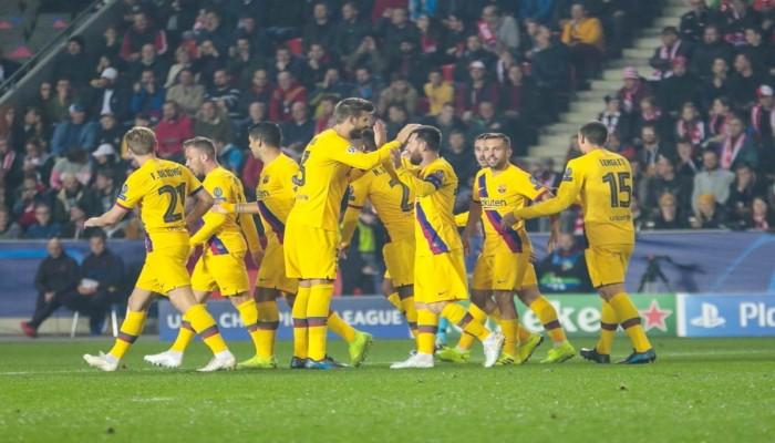 فوز صعب لبرشلونة يمنحه 7 نقاط في صدارة أبطال أوروبا