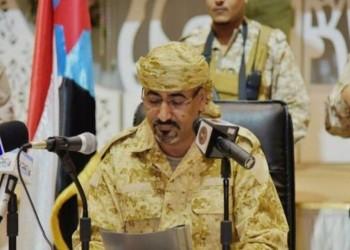 كيف علق عيدروس الزبيدي على توقيع مسودة اتفاق الرياض؟