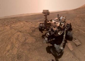 ناسا تكشف عن صورة سيلفي نادرة من المريخ