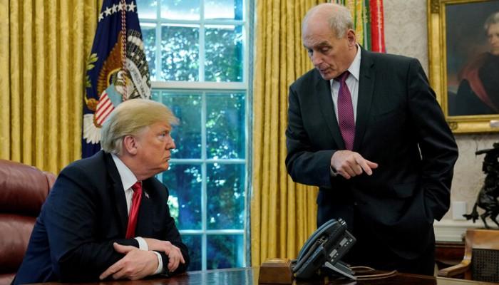 كبير الموظفين السابق بالبيت الأبيض: حذرت ترامب من العزل المحتمل