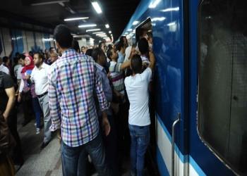 انتحار مصرية تحت عجلات مترو الأنفاق بالقاهرة
