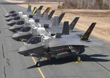 أكبر عقد للبنتاغون مع لوكهيد مارتن لشراء 478 مقاتلة إف-35