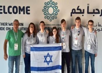 إسرائيل تشكر الإمارات على استضافة فريقها لأوليمبياد الروبوتات